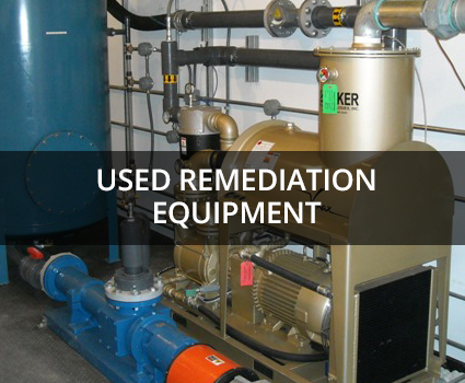 Used Remediation equipment